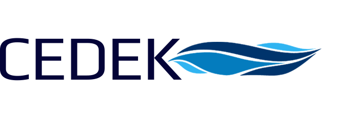 Cedek water treatment logo